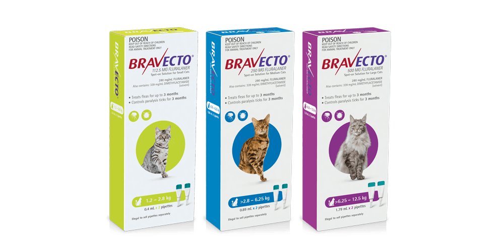 Long Lasting Flea Tick Treatment For Cats Bravecto